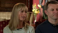 Interior interview with Kate and Gerry McCann parents of missing Madeleine McCann before the 10th anniversary of her disappearance on 30 April 2017...