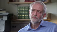 Interior interview with Labour leader Jeremy Corbyn speaking to Sky News' Political Editor Faisal Islam about Labour members of the House of Lords...