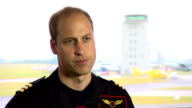 Interior Interview with Prince William Duke of Cambridge on being back at work and his career as an Air Ambulance Pilot PART TWO on July 13 2015 in...