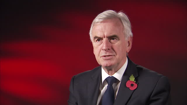 Interior interview with Shadow Chancellor John McDonnell speaking about what the Labour party is doing to address the issue of sexual harassment at...