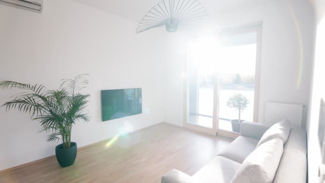 Interiören i en modern lägenhet