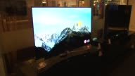 Interior Of Abt Electronics Store LQ Flat Screen TV on December 12 2013 in Chicago Illinois