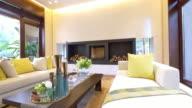 Interieur des modernen Wohnzimmer 4 K