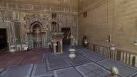 HA, PAN, Interior of Sultan Hassan Mosque, Cairo, Egypt