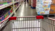 Innenansicht der Supermarkt