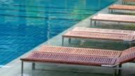 Innenansicht der Swimmingpool im Freien