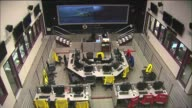 Interior of the Los Angeles Emergency Operations on April 15 2013 in Los Angeles California