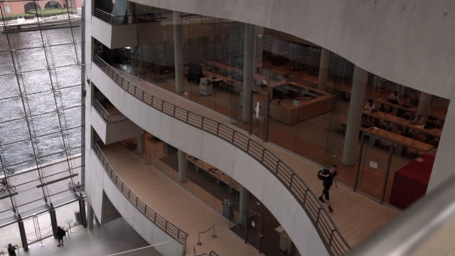 Interior of the Royal Library in Copenhagen