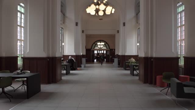 Interior of the Royal Library in Copenhagen