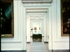1958 MS Interior of US National Gallery of Art / Washington DC / AUDIO
