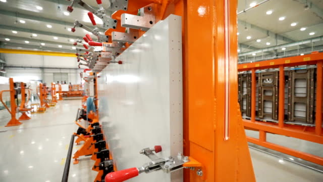 Innere des Workshop im Herstellerwerk