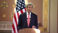 interior presser grab John Kerry US Secretary of State RE US will assist in Brexit