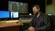 Interior shots Andy Serkis actor talks about what Christmas is like with his family He talks about having to clean up after Santa Clause waiting a...