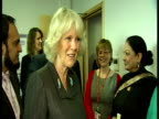 Interior shots Camilla Duchess of Cornwall meets chats with centre staff Camilla visits Rape Crisis Centre on March 23 2011 in Ilford London England