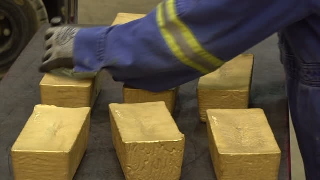 Interior shots Cortez goldmine operations production line for creating gold into bars on September 28 2017 in Eureka Nevada