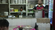Interior shots of diners in a Mexico City restaurant eating lunch on July 09 2015 in Mexico City Mexico