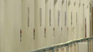 Interior shots of empty corridors at HM Prison Wormwood Scrubs on March 28 2014 in London England