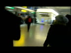 Interior shots of Meredith Kercher's family walking through Stansted Airport following the verdict in her murder trial Interior interview with...
