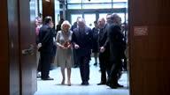 Interior shots of Prince Charles and Camilla Duchess of Cornwall visiting the Armed Forces Retirement Home in Washington DC>> on March 19 2015 in...