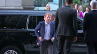 Interior shots of Prince Harry arriving at the Invictus Games and meeting officials on 22 September 2017 in Toronto Canada