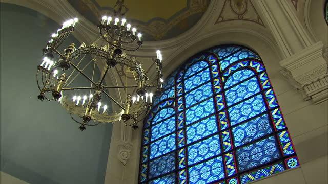 Interior shots of The Grande Synagogue de la Victoire on January 17 2015 in Paris France