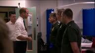 Interior shots on hospital ward talking with NHS staff Paramedics and nurses