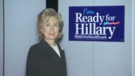 Interior shots 'Ready for Hillary' signage on walls of Hillary Clinton 2016 Presidency Campaign Centre on June 07 2014 in Washington United States