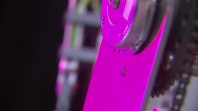 Interior shots RoboThespian Robot at Engineered Arts Ltd robot flexing fingers on September 03 2015 in Penryn England