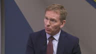 Interior soundbite with Chris Bryant MP former Shadow Leader of the House of Commons speaking about the lack of confidence in Labour party leader...
