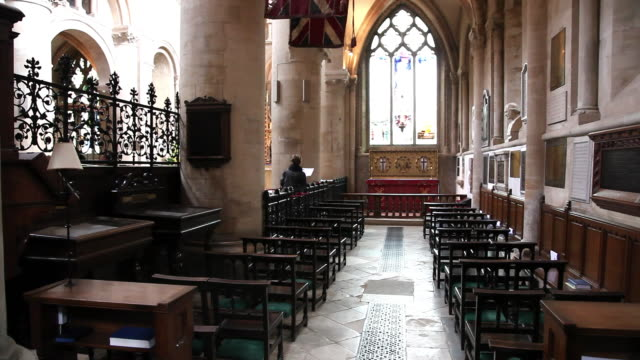 Interior south isle, Christ Church Cathedral, Oxford