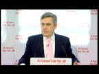 interior statement Gordon Brown addresses Scottish Labour audience re 5 key election pledges Gordon Brown has announced Labour's five key election...