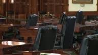 Interiors of the Texas Senate