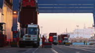 Intermodal Transfer at Port of Long Beach