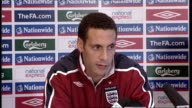 England press conference ENGLAND Hertfordshire The Grove INT Rio Ferdinand press conference SOT Have had some decent results recently and need to...