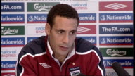 England press conference Ferdinand press conference SOT Great to have good start in World Cup qualifiers but need to sustain momentum / Need to...