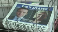 International media pored over the results of France's closely watched first round of its presidential election Sunday with mainstream newspapers...