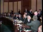 International Monetary Fund USA Washington LMS Delegates at meeting MS USA delegates CS French delegate PULL OUT VIDEO ex ENG TX