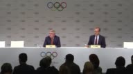 International Olympic Committee President Thomas Bach downplays security fears surrounding the 2018 Winter Olympics following the recent escalation...