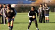 International Tests New Zealand squad training ENGLAND London Harrow School EXT Closeup of Graham Henry Closeup of Richie McCaw running New Zealand...