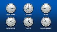 International Time Zones (HD Loop)