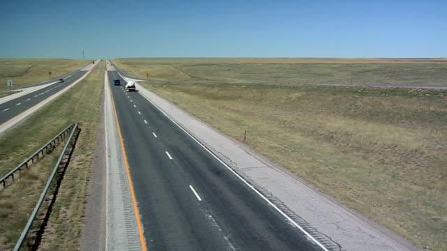 WS PAN Interstate 25 North of Cheyenne, Wyoming, USA