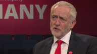 Interview grab with Labour Party leader Jeremy Corbyn regarding welfare spending and free school meals and focusing on improving the lot of the...