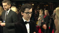 Interview with actor Asa Butterfield at premiere of Hugo 'he's absolutely inspirational to work with'
