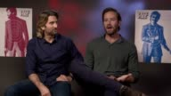 Interview with actors Armie Hammer and Sharlto Copley on actioncomedy film Free Fire