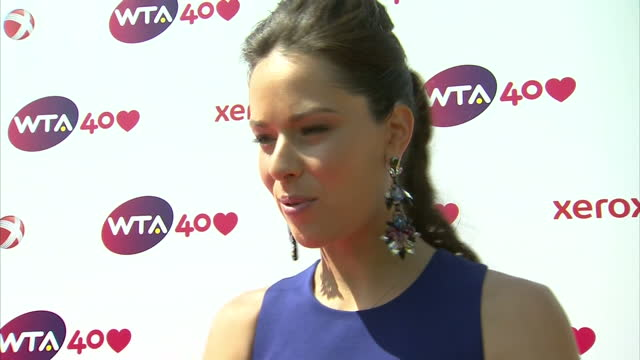 Interview with Anna Ivanovic at WTA Gala 'we should really thank Billie Jean for bringing us here'