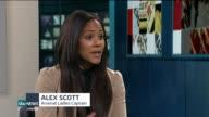 Interview with Arsenal Ladies captain Alex Scott ENGLAND London GIR INT Alex Scott LIVE STUDIO interview SOT