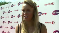 Interview with Caroline Wozniacki 'I think it's amazing to be here after forty years'