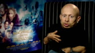 Interview with director and cast of 'The Imaginarium of Doctor Parnassus' Verne Troyer interview SOT Feels he shares some characteristics sarcasm and...