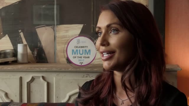 Interview with former The Only Way is Essex star Amy Childs as she is unveiled as the 2017 Celebrity Mum of the Year