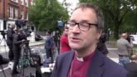 Interview with Graham Tomlin Bishop of Kensington He says a wedding was supposed to happen in the church next to Parsons Green station but it had to...